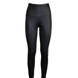 Olivia Leather Leggings Black