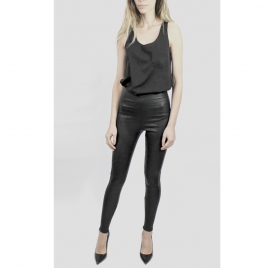 OLIVIA LEATHER LEGGING two view