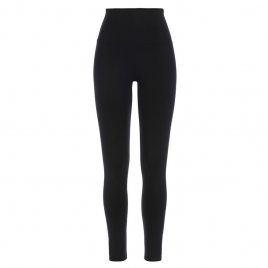 HIGH WAISTED AGATA BLACK SLIMMING LEGGINGS