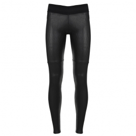 LEATHER PANT- L STRIPE BLACK
