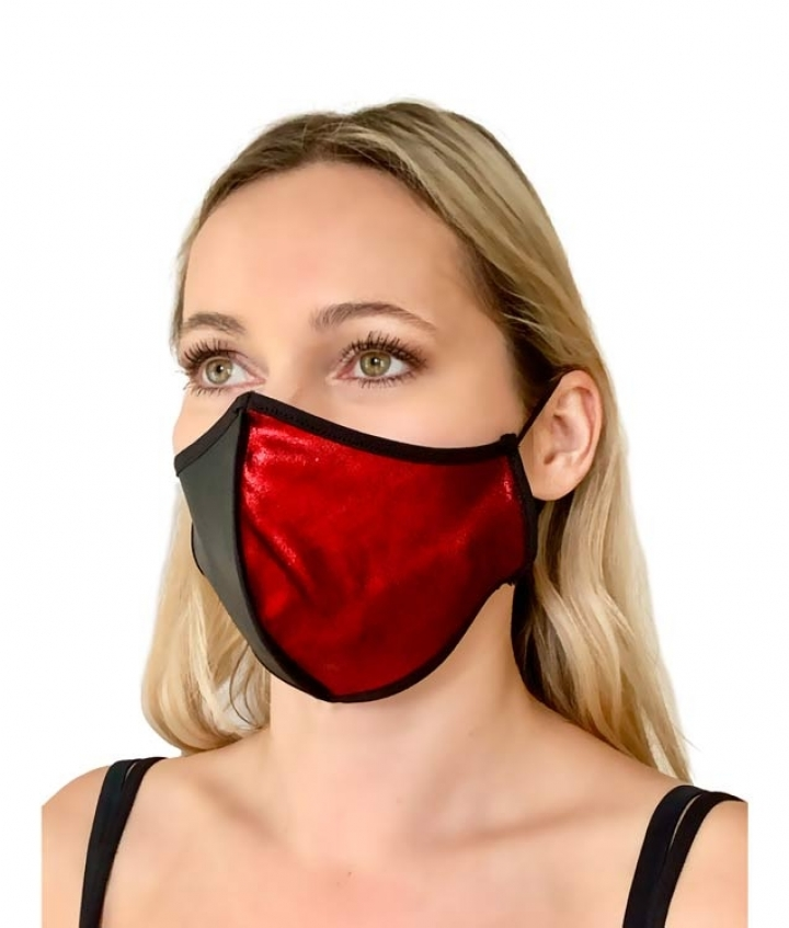 Face Mask Bi-color two view