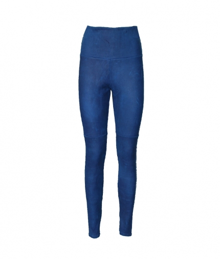 BLUE SUEDE LEGGING one view