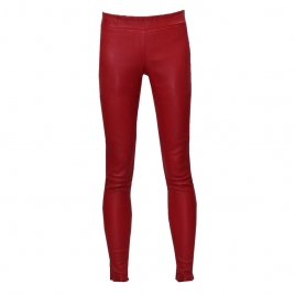 COVERED ELASTIC RED LEA LEGGING