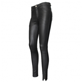 PARIS ENGINEER LEATHER PANT three view