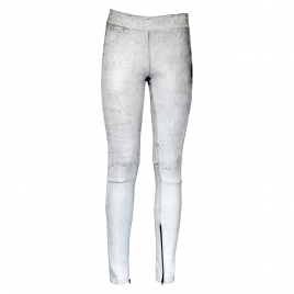 ELLY LEATHER LEGGINGS- B WHITE