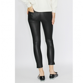 BETTY CROPPED LEATHER PANTS five view