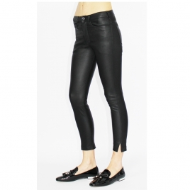 BETTY CROPPED LEATHER PANTS three view