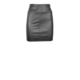 CHER MINI LEATHER SKIRT