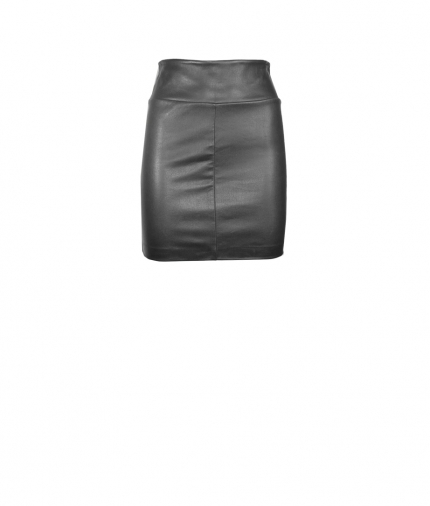 MINI SKIRT LEATHER one view