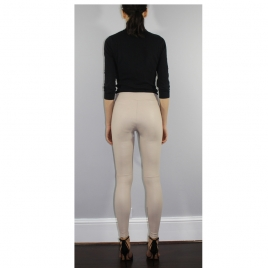 COVERED ELASTIC WAIST IVORY LEA four view