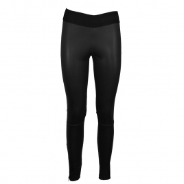 LUNA LEATHER LEGGING ELASTIC WAIST