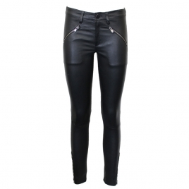 BELLA STUDDED LEATHER JEANS